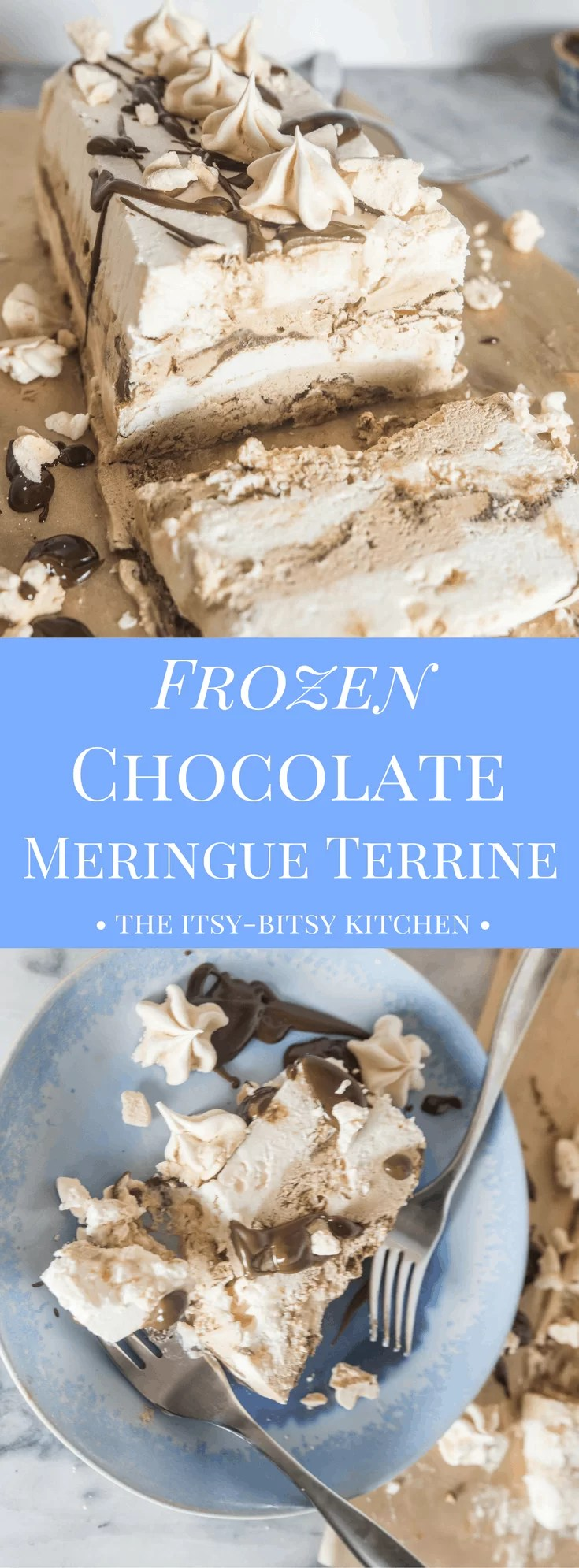 Frozen Double Chocolate Mocha Meringue Terrine - The Itsy ...