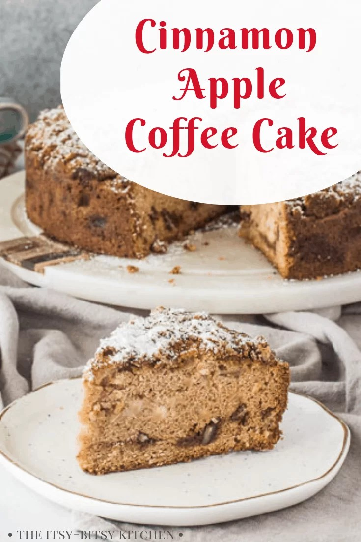 third pin image for cinnamon apple coffee cake with text overlay