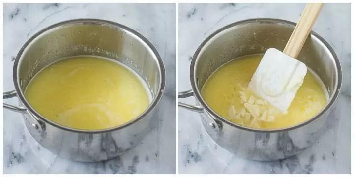 how to make white chocolate cake step by step