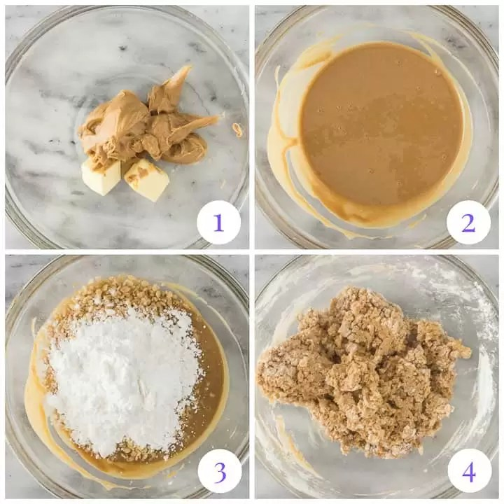 how to make easy peanut butter balls step by step