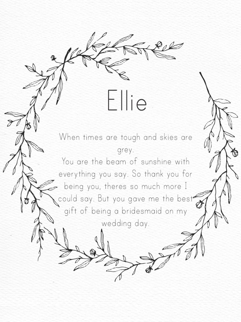Wedding – leaf circle