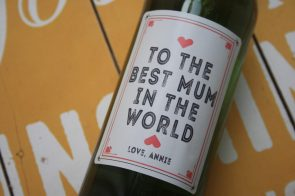 Mothers Day hearts - Personalised label