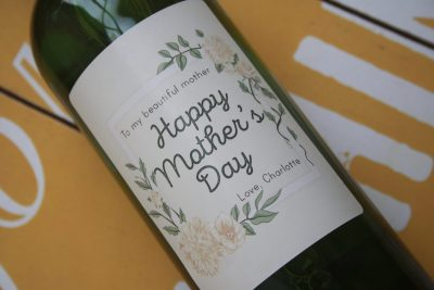 Mothers Day Flowers - Personalised label