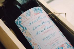 Personalised wine for Weddings - Bridesmaids