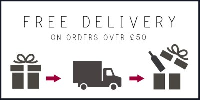 personalised wine - Free delivery over £50