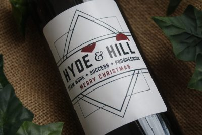Personalised Wine - Corporate Wine