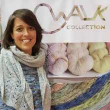 The Walk Collection had some exquisite yarns!