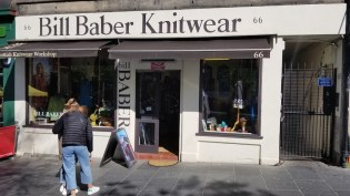 Bill akes the most amazing knitwear at his shop - Bill Baber Knitwear!