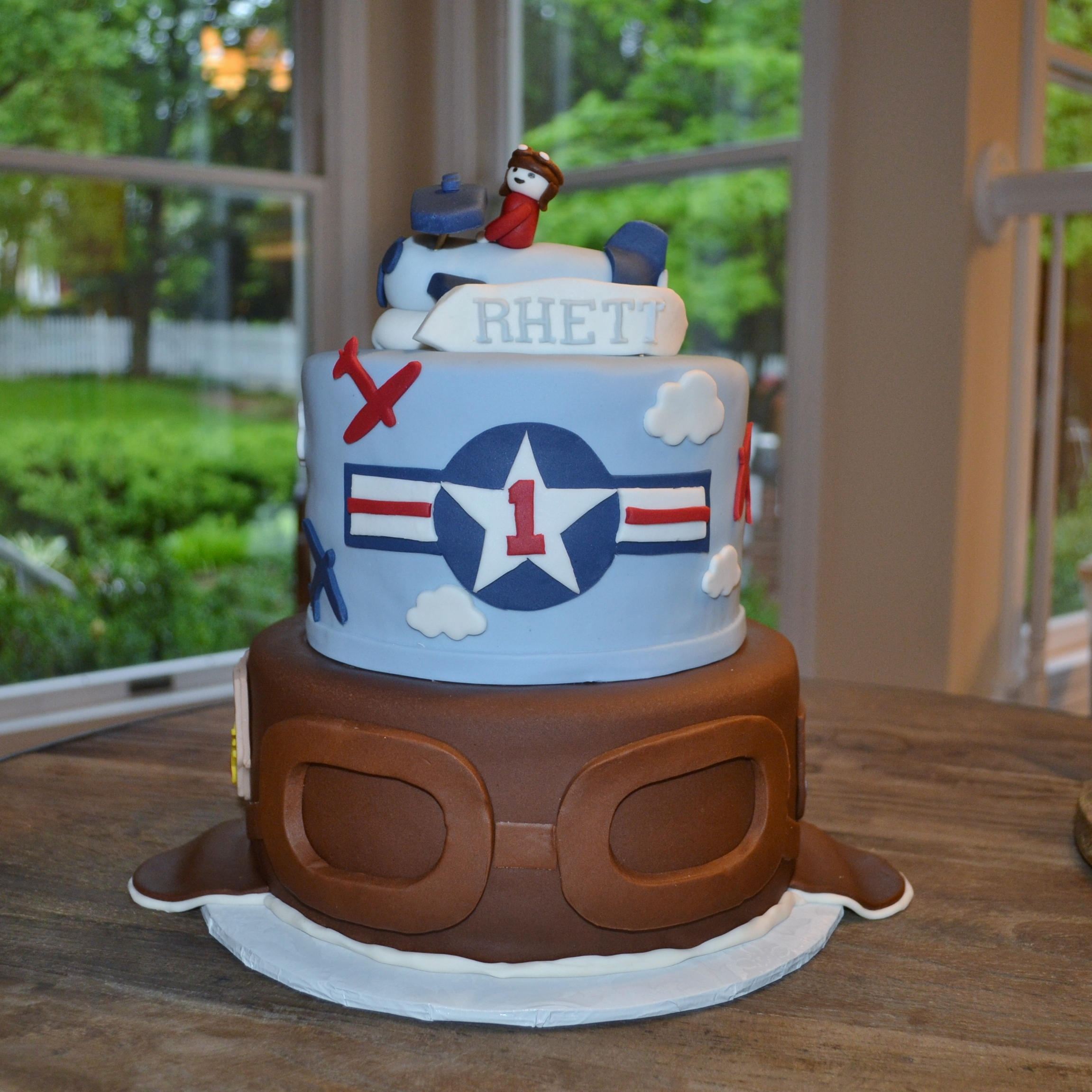 Cakes With Airplane Theme
