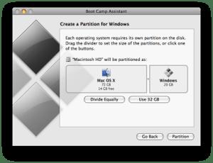 apple Mac Bootcamp Windows7