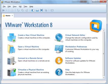 vmware workstation 8