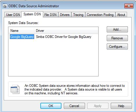 Connect Power BI to GCP BigQuery using Simba Drivers | Ittichai