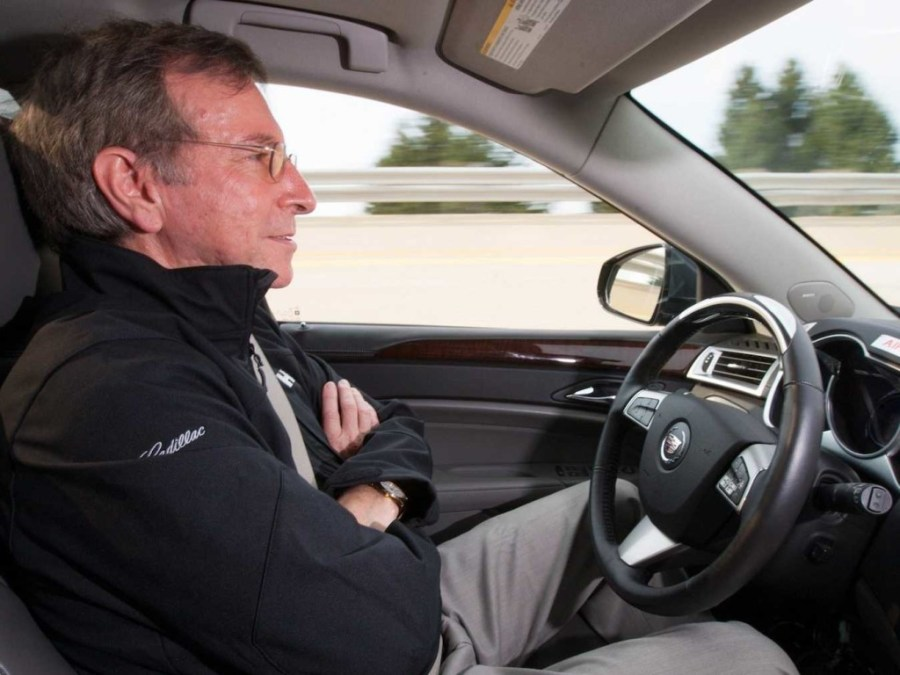 GM team for self-driving car 2