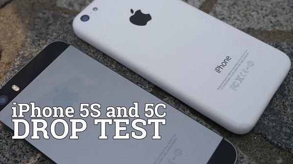 iPhone 5S & 5С drop test 1