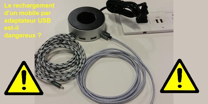 Faut-il encore avoir confiance dans les câbles USB d'alimentation ?