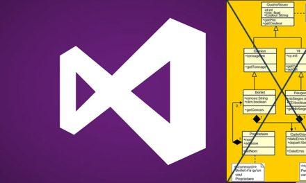 Microsoft sort UML de Visual Studio 2015