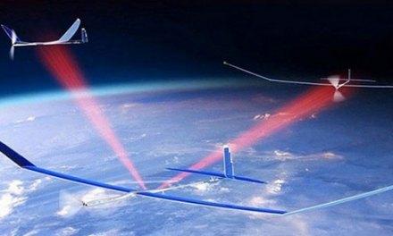 Un réseau 5G construit avec des drones solaires