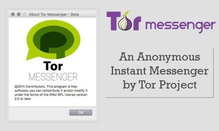 Une messagerie instantanée pour le projet TOR