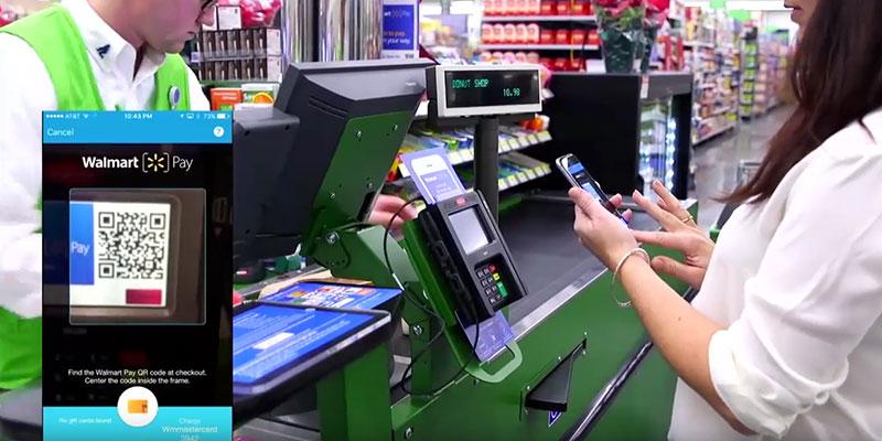 Walmart avec sa propre solution de paiement