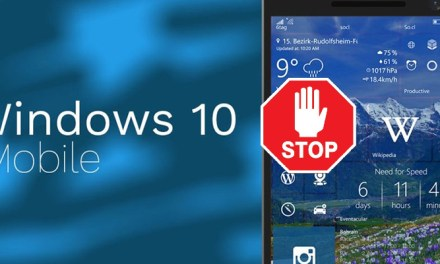 Le désastre de l'abandon Windows 10 Mobile