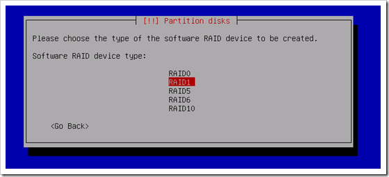 Clonezilla Software Raid 1