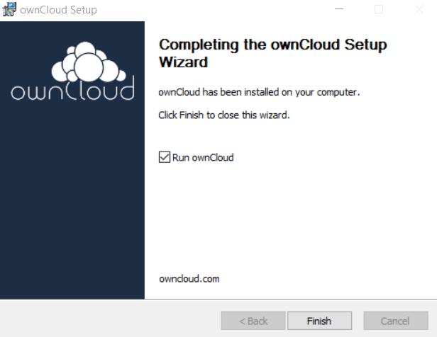 Run ownCloud