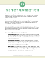 Best Practices Post