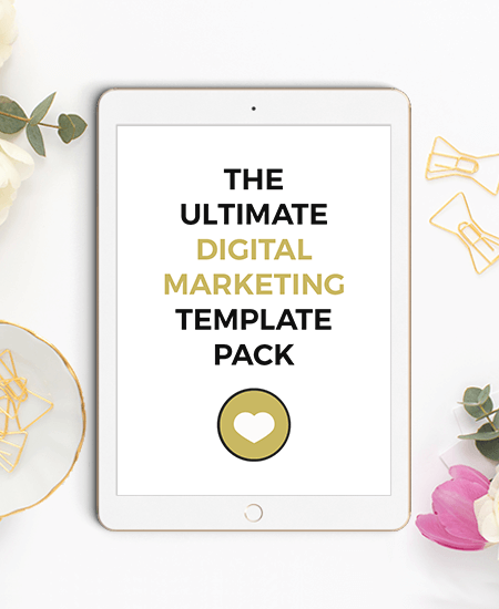 The Ultimate Digital Marketing Template Pack