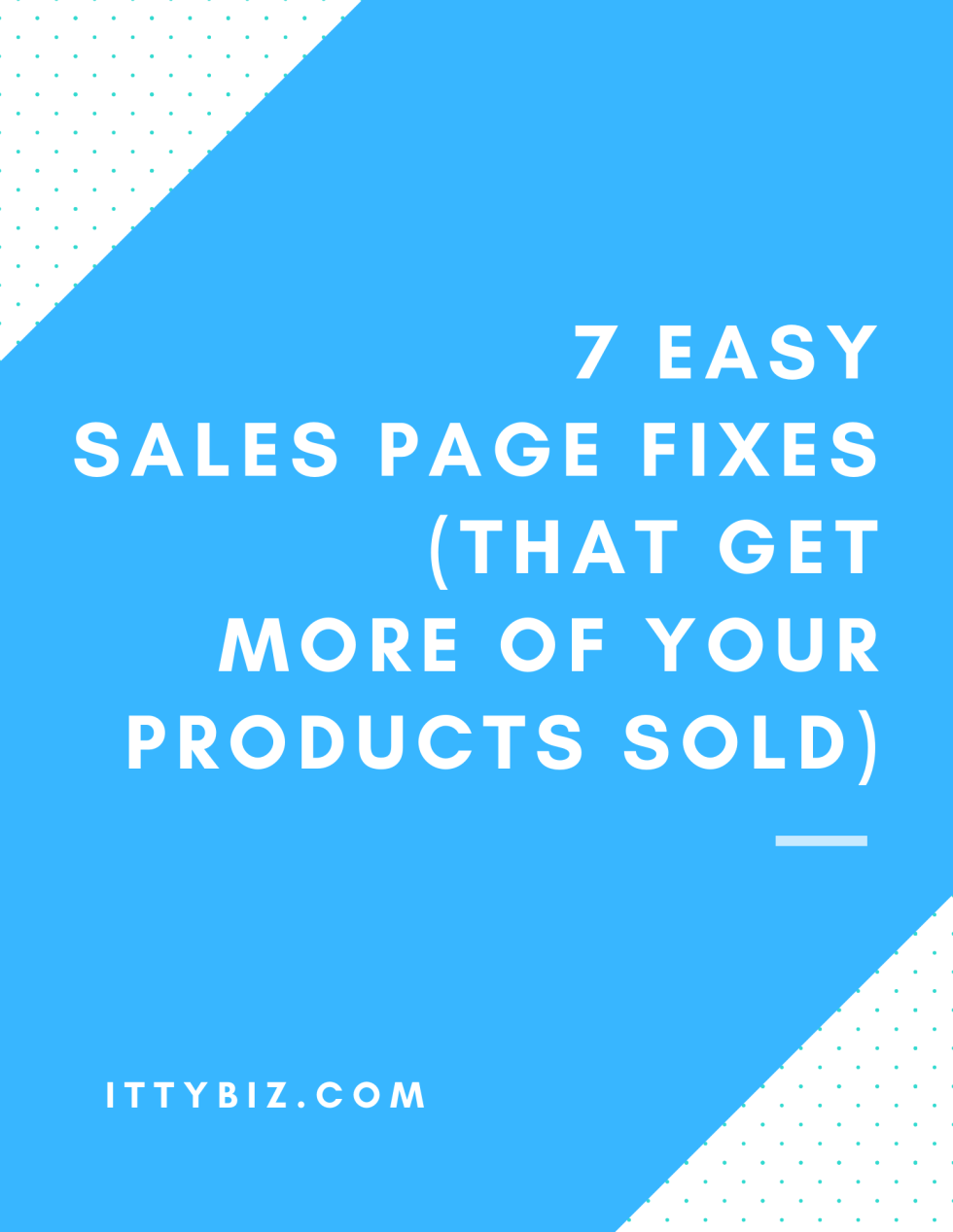 sales-page-fixes