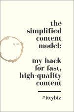 The Simplified Content Model