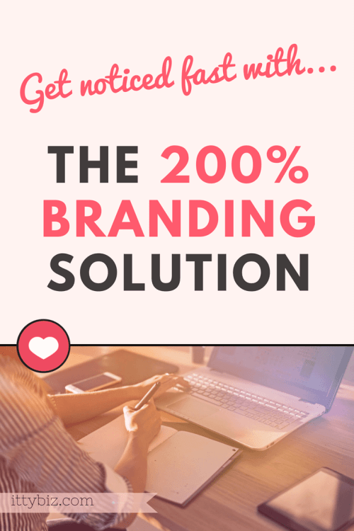 The 200 Percent Branding Solution