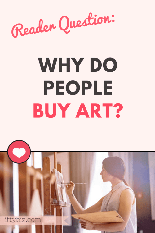 Why do people buy art?