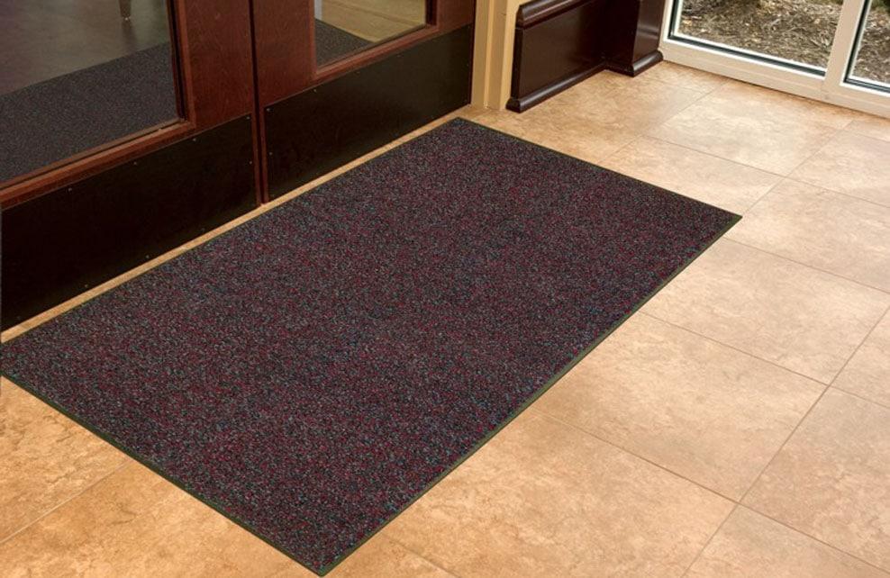 commercial brush mat