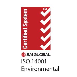 ISO14001:2004 registration