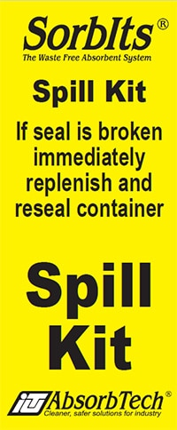 Example of a Spill Kit Seal