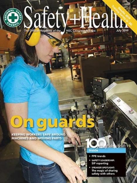 safety plus heath magazine July 2019