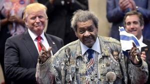 Don King with President Donald Trump