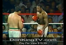 Don King Classics for the January 29th PPV