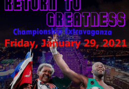 """Don King's """"Return to Greatness"""" January 29th PPV"""