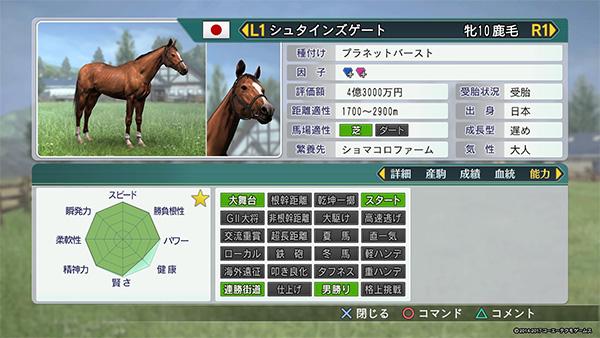 ウイニングポスト8 おすすめ繁殖牝馬