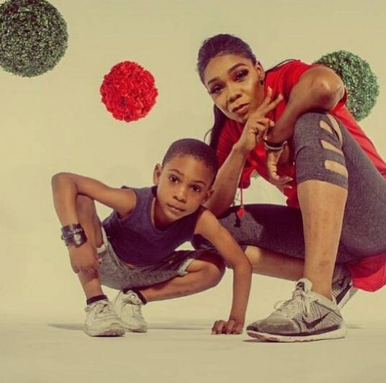 "Checkout This Hilarious Video Of Kaffy's Son Dancing To ""Science Student"""