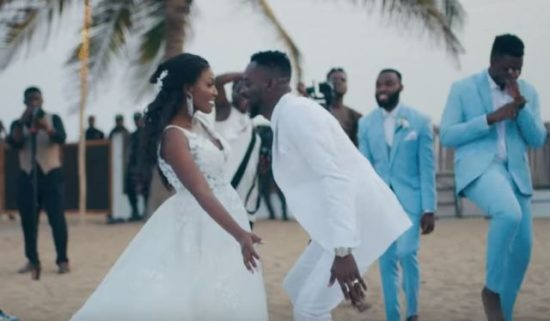 Finally! Adekunle Gold Releases Wedding Video With Simi