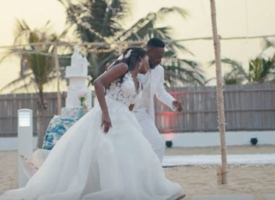 Adekunle Gold and Simi wedding