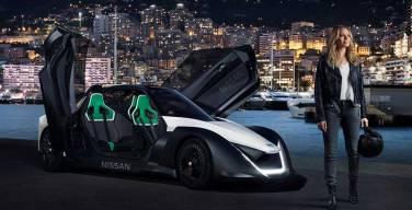 Estrella de Hollywood pone a prueba el Nissan BladeGlider