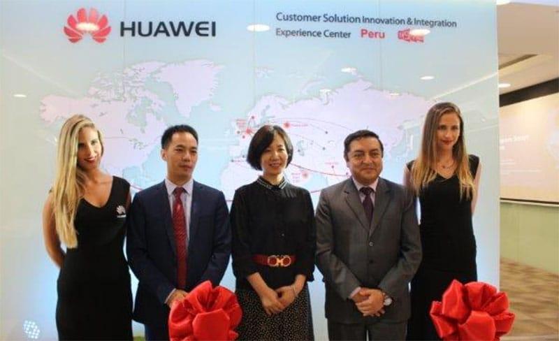 Huawei Perú inauguró primer Centro de Experiencia Corporativo