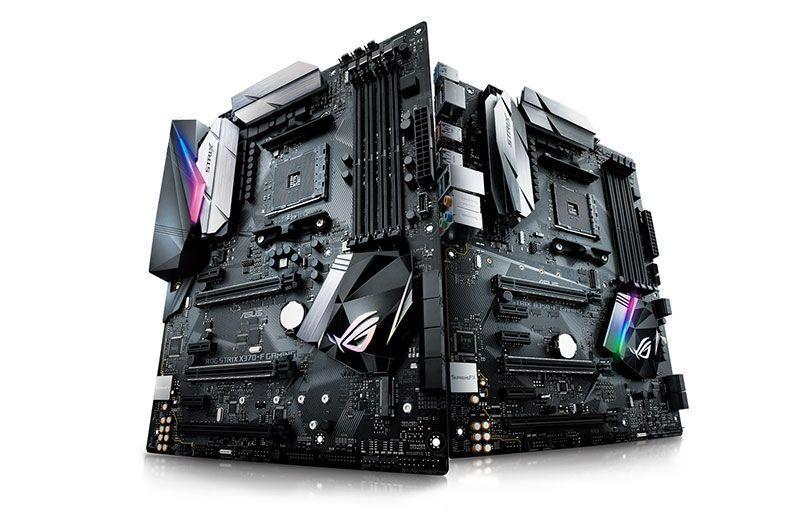 Nuevas ASUS Strix X370-F Gaming y Strix B350-F Gaming