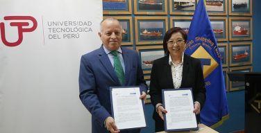 UTP-firmó-convenio-con-naviera-Transgas-Shipping-Lines