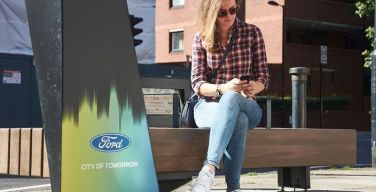Ford-instala-bancas-inteligentes-en-Londres