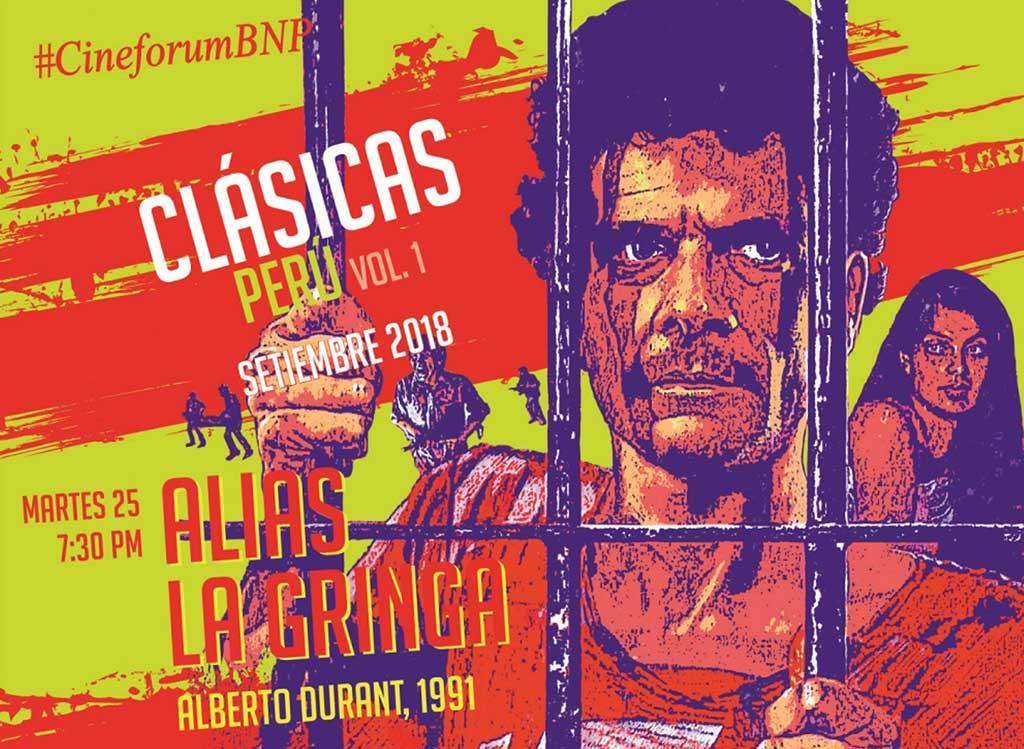 BNP presenta clásico de cine de acción «Alias la Gringa»