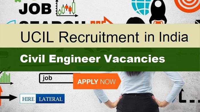 UCIL Recruitment 2021